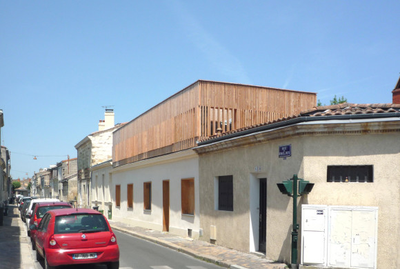 06.07.2015 – Our single-story dwelliing extension in Bordeaux is now completed