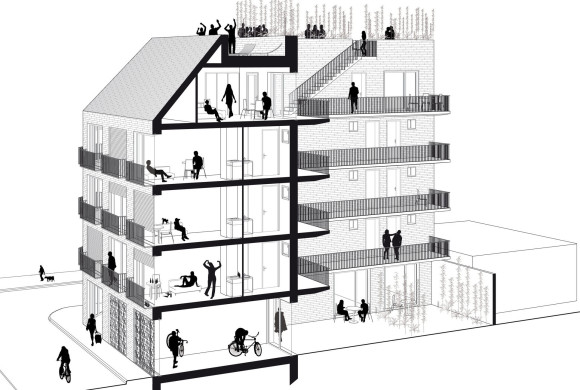 Students collective housing units – on line